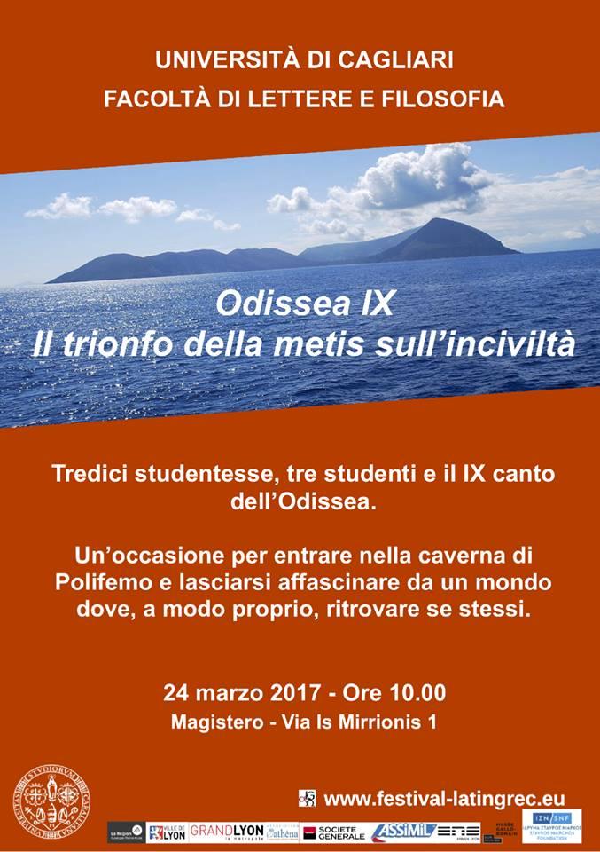 Le Festival Européen Latin Grec à l'affiche ... en Italie à Cagliari !
