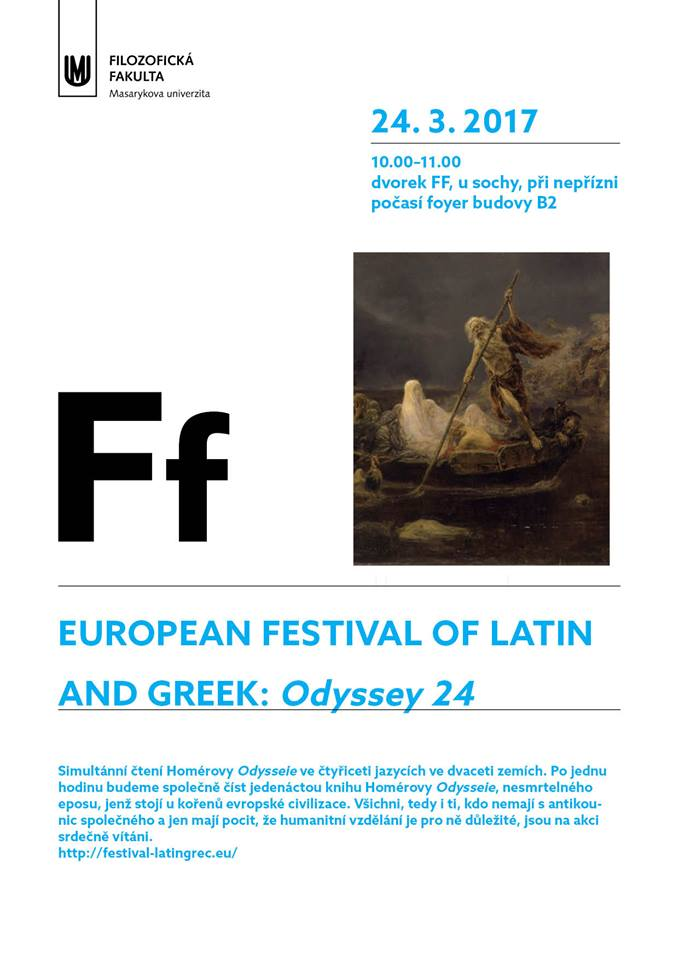 Le Festival Européen Latin Grec à l'affiche ... en République Tchèque à Brno !