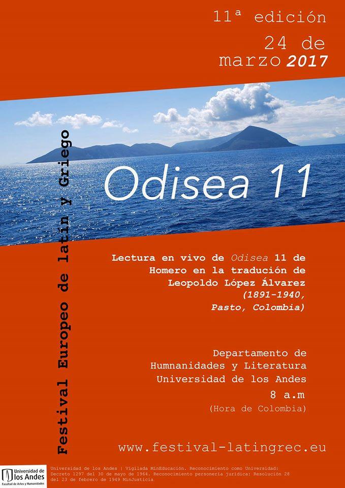 Le Festival Européen Latin Grec à l'affiche ... en Colombie à Bogota !