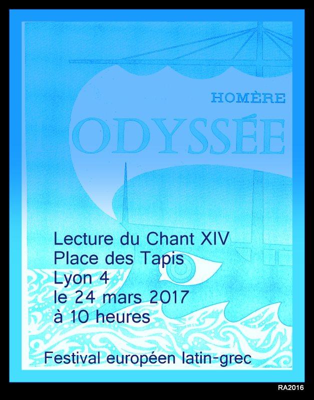 Festival Européen Latin Grec à LYON: 24 mars 10H, 24 sites de lecture !