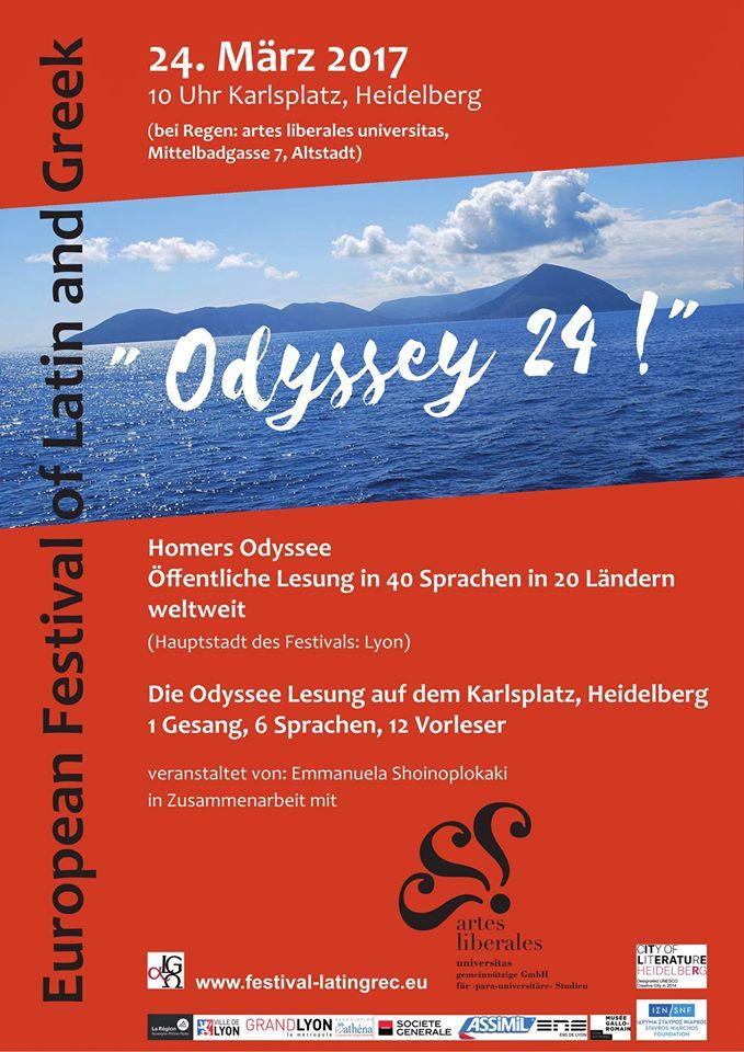 Le Festival Européen Latin Grec à l'affiche...en Allemagne à Heidelberg !