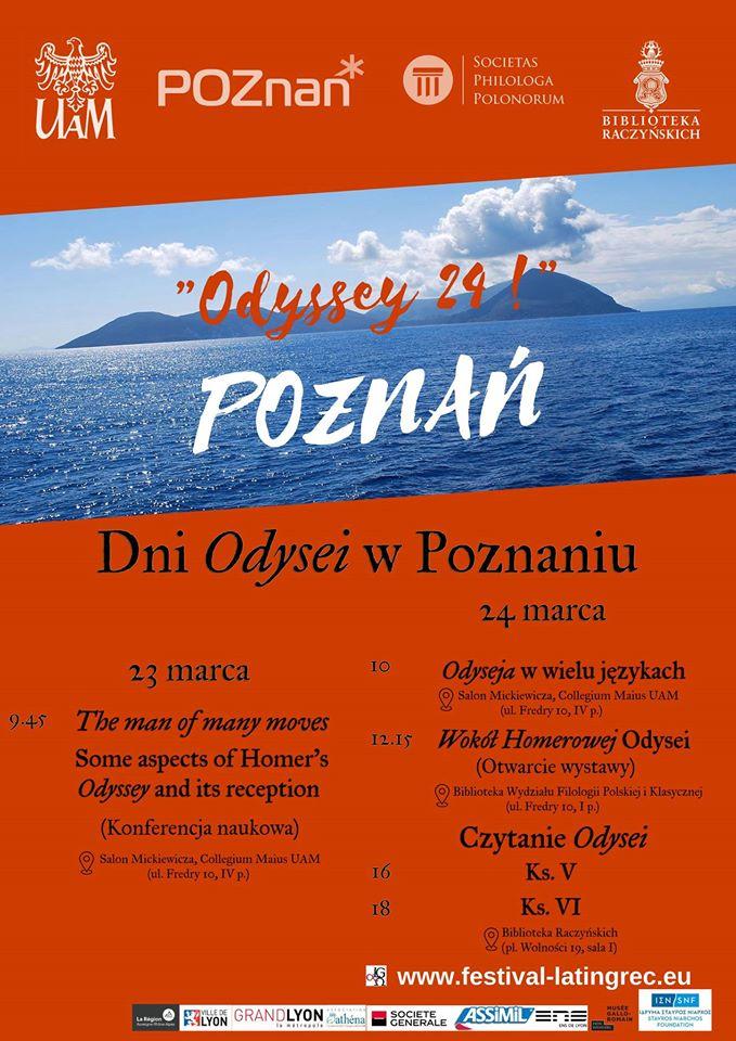 L'affiche de Poznan (Pologne) aux couleurs du festival !