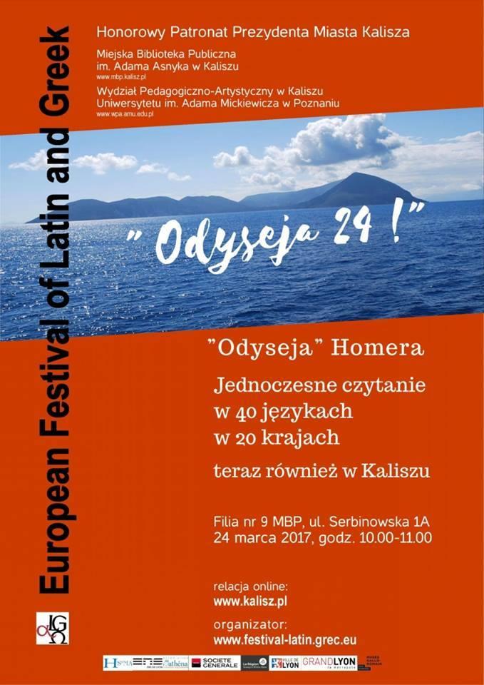 Le festival Européen Latin Grec à l'affiche... en Pologne à Kalisz !