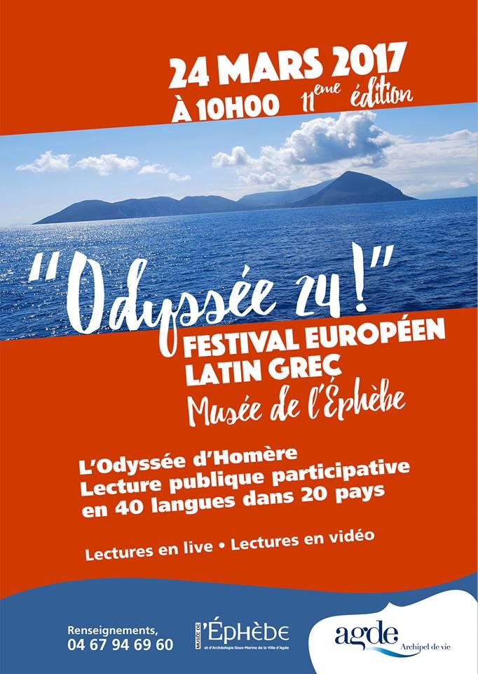 Le Festival Européen Latin Grec à l'affiche... au musée de L'Ephèbe !
